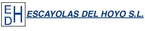Escayolas del Hoyo, S.L. eskaiolistak logotipoa