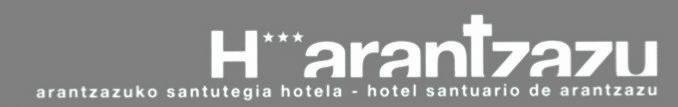 Arantzazuko Santutegia hotela logotipoa