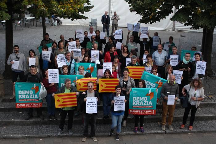 'Eskoriatzarrak Katalunian urriaren 1ean' hitzaldia izango da bihar, kultura etxean