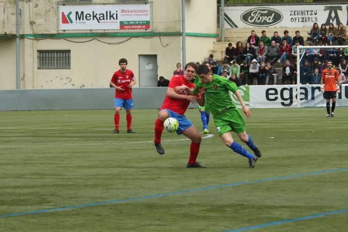 1-0 irabazi dio Aloña Mendik Anaitasunari