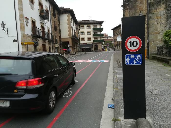 Euskadi Etorbidean eta Otadui Zuhaiztian asfaltoa igoko dute abiadura murrizteko