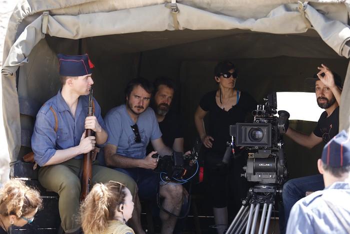 'La Trinchera infinita' filma zinema aretoetan