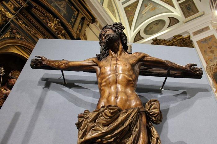 Bergarako Santo Kristo Hilzorikoa ikusgai dago Sevillan  - 6