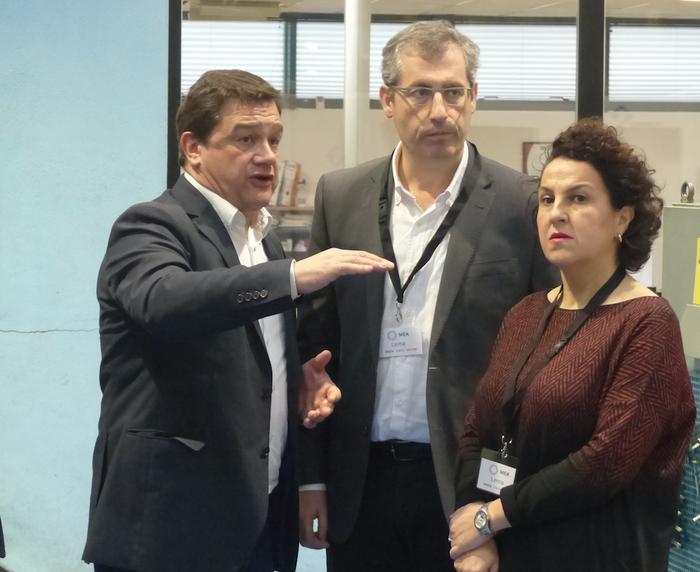MEK Lema enpresaren lehiakortasuna nabarmendu du Markel Olano ahaldun nagusiak, Elgetan