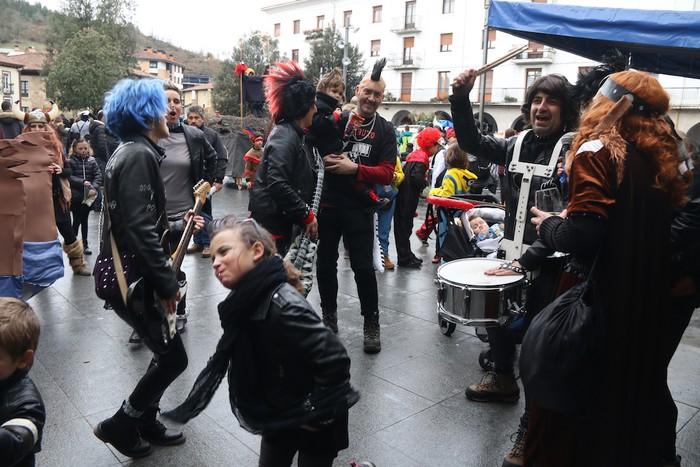 Inauterietako desfilea Aretxabaletan - 113