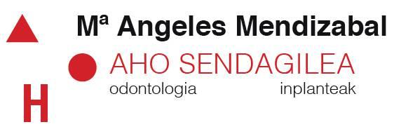 Mª Angeles Mendizabal  dentistak logotipoa