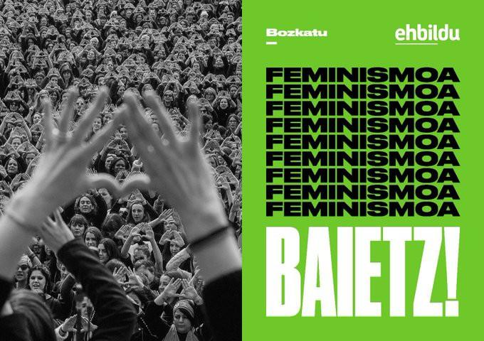 Igandean, Feministok EH Bildu!
