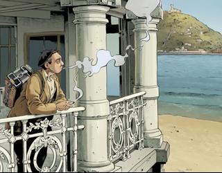 Iristear da 'Sasi artean Elgeta' komiki-albuma