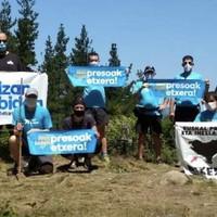 Manifestazioa 'Izan bidea' ekimenaren baitan