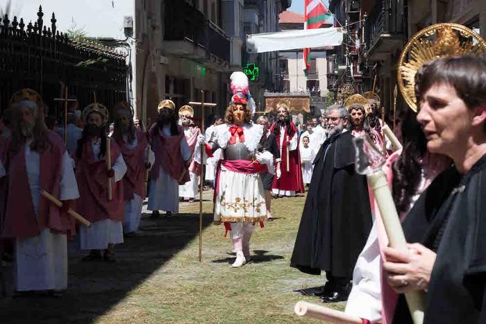 Oñatiko kaleak lepo bete dira beste behin Corpusetako prozesioan - 145