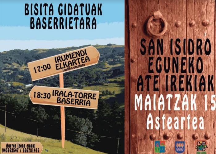 San Isidro egunaren bueltan lehen sektorea protagonista