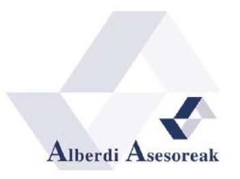Alberdi asesoreak logotipoa