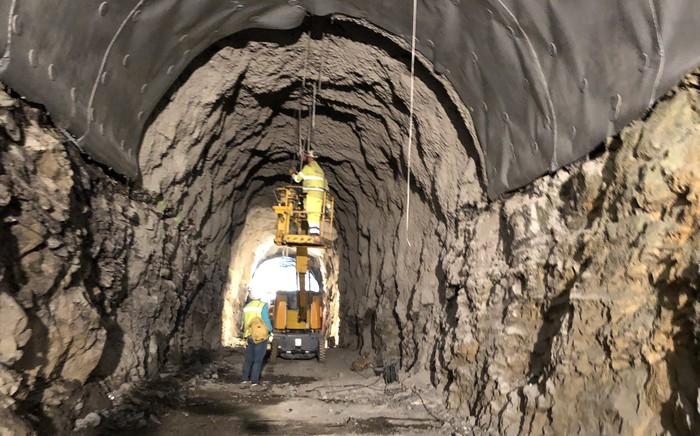 Ireki dute Gabiriako tunela
