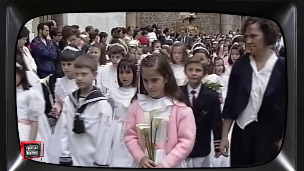 Andaluziarren eta galiziarren festak, artzain txakurrak eta Corpus ospakizuna