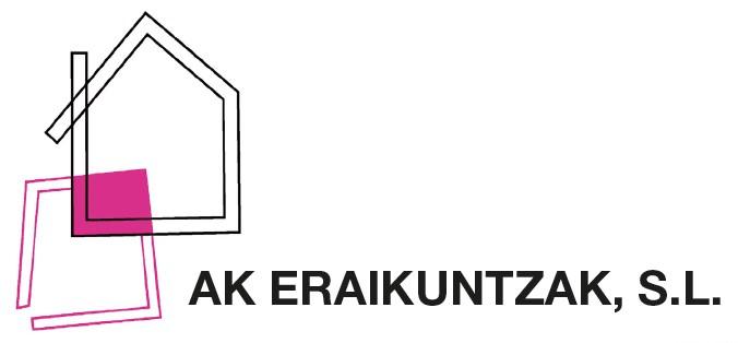 AK eraikuntzak SL logotipoa