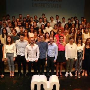 MUko Ingeniaritzako 203 gradudunek diplomak jaso dituzte