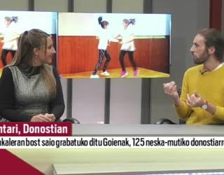 Asteburuan Donostira helduko da Kantari