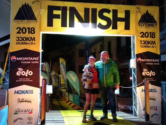 Silvia Triguerosek irabazi du Tor des Geants proba, Italian