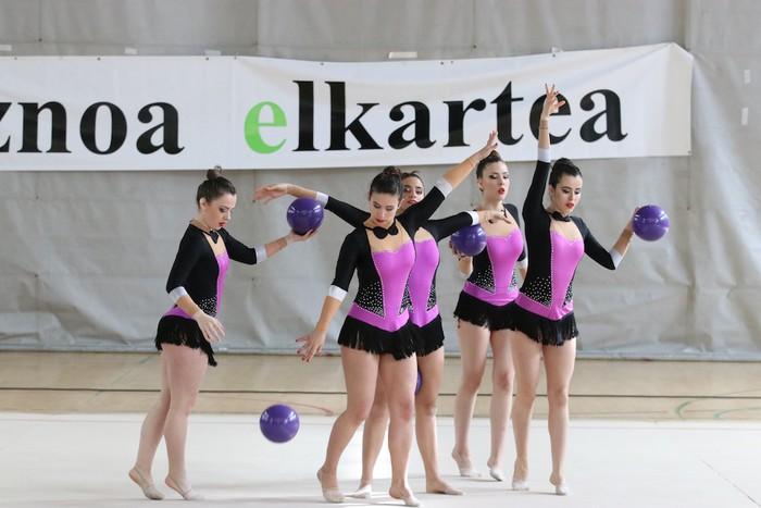 Maila bikaina gimnasia erritmikoko txapelketan - 41