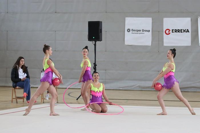 Maila bikaina gimnasia erritmikoko txapelketan - 4