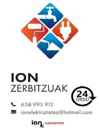 Ion Zerbitzuak logotipoa