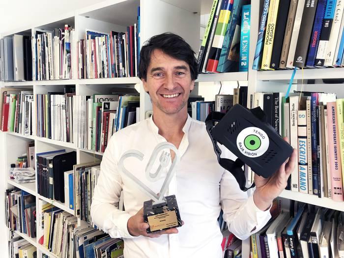 Andoni Larrañagak SaludFestival saria jaso du