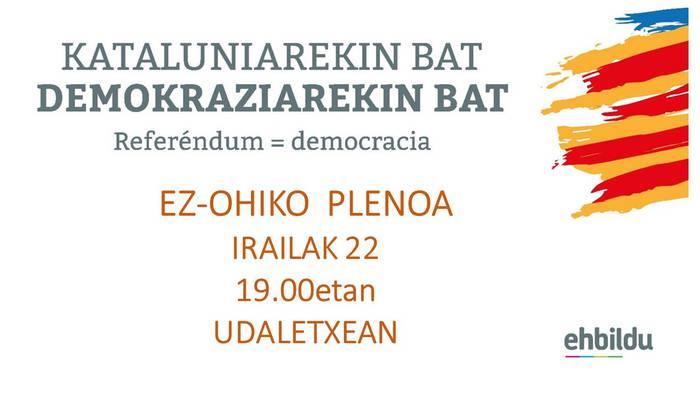 Kataluniarekin bat! Demokraziarekin bat!