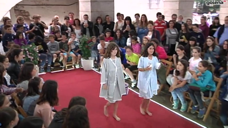 Moda desfilearen balorazio positiboa egin dute antolatzaileek