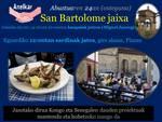 San Bartolome jaien ohitura mantenduz