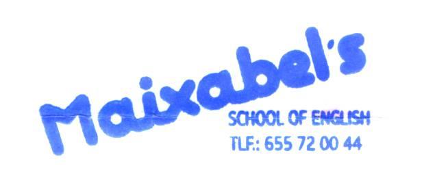 Maixabel's akademia logotipoa