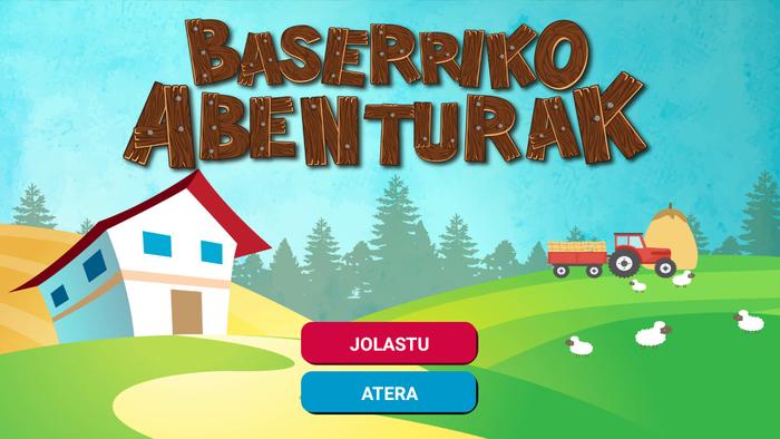 'Baserriko abenturak': 4 eta 10 urte bitarteko haurrentzako euskarazko jolasa