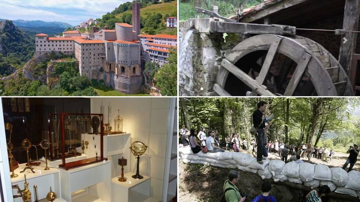 Turismo eskaintza zabala Aste Santurako Debagoienean