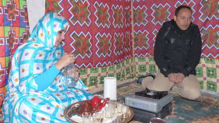 Sahararen aldeko festa