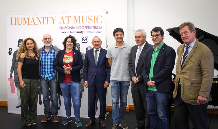 Buesa Arenara iritsiko da 'Humanity at Music' irailaren 14an