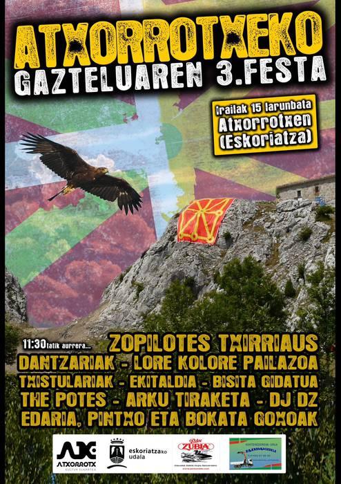 Atxorrotx Gazteluko festa