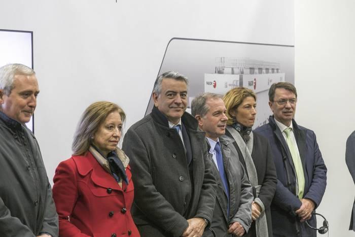 Espainiako Gobernuko ordezkariek ere Fagor Arrasateren prentsa-lerroa ezagutu dute