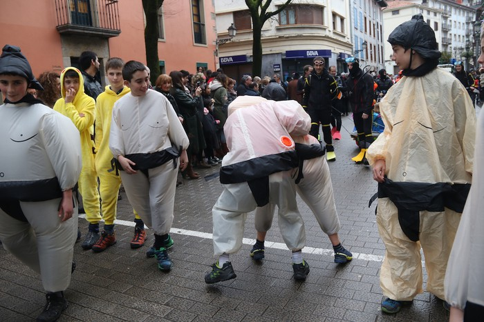 Inauterietako desfilea Aretxabaletan - 88