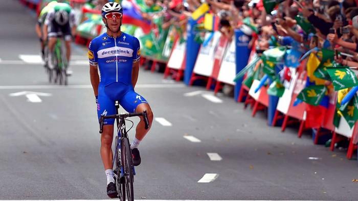 Philippe Gilbert-ek etapa dotorea irabazi du Bilbon, hamargarrena berarentzat itzuli handietan