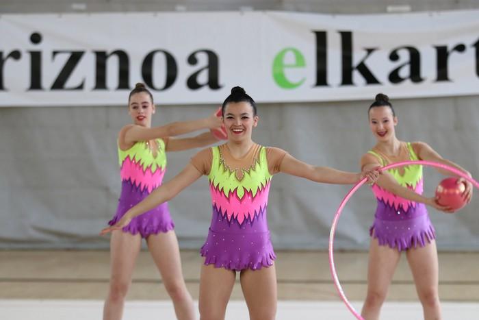 Maila bikaina gimnasia erritmikoko txapelketan - 5