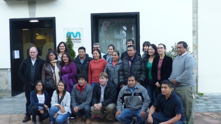 Ekonomia solidarioan oinarritutako ikastaroa abiatu dute 16 latinoamerikarrek MUn
