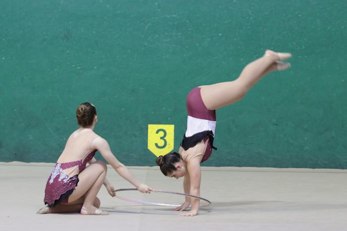 Ikasturte amaierako erakustaldia egin dute arrasateko gimnastek - 2