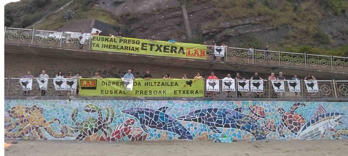 Euskal presoen eta iheslarien eskubideen aldeko aldarrikapena