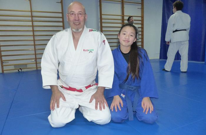 Maren Martin, etorkizun oparoa duen judoka