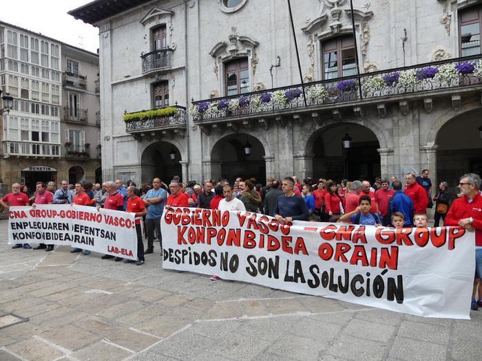 Manifestaziorako deia egin dute Edesa Industrialeko, Geyser Gastecheko eta Alfako enpresa komiteek