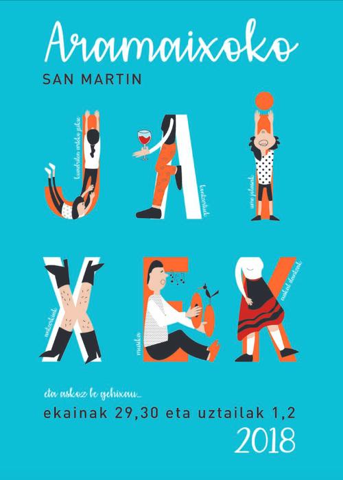 Aramaioko San Martin jaiak: Egitaraua