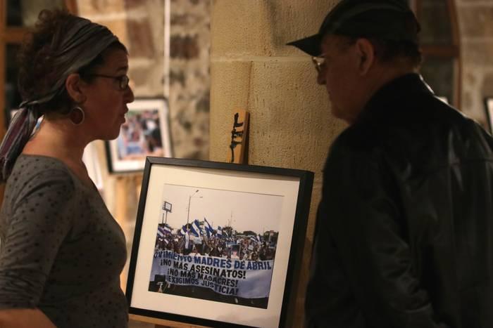 'Emakume aurpegidun Nikaraguar erresistentzia' erakusketa astelehenera arte ikusgai, Ibarraundin