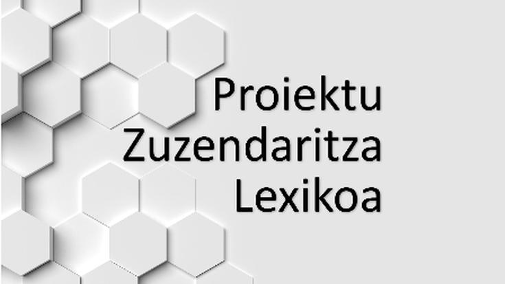 Mondragon Unibertsitateak 'Proiektu Zuzendaritza Lexikoa' ekimenean hartu du parte