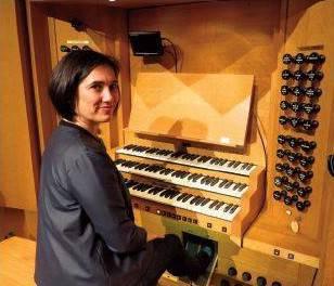 Alize Mendizabal organo jolea igandean
