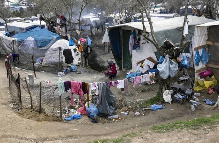 'Lesboseko begietatik' erakusketa