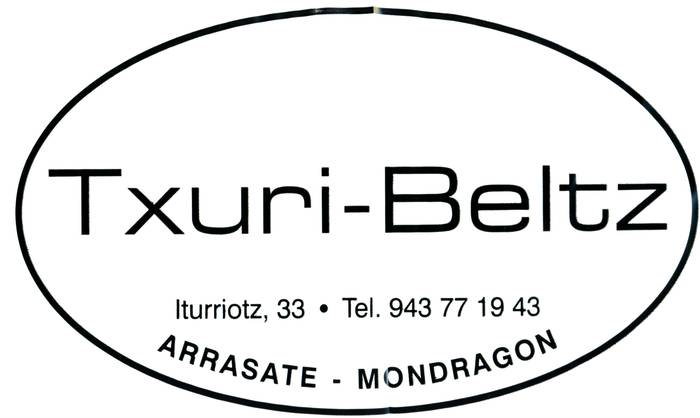 Txuri-Beltz lentzeria logotipoa